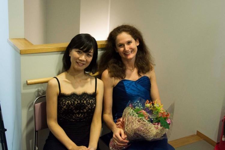 Fumiyo Goshima et Marie Cantagrill