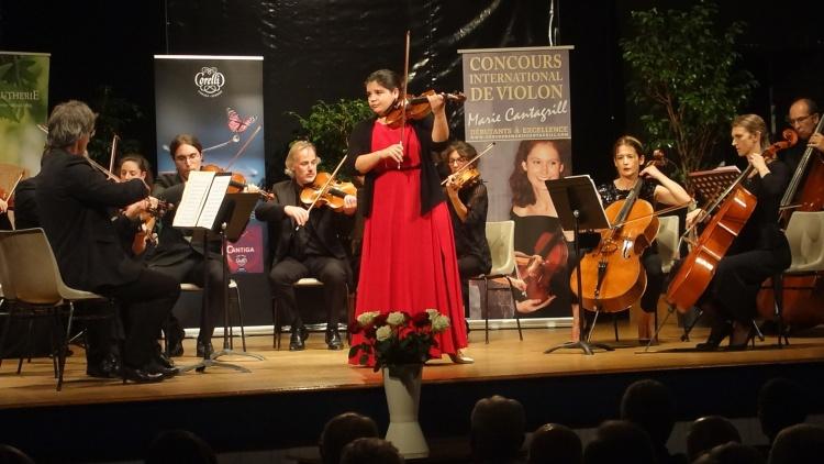 Concert des lauréats du Concours avec l'Orchestre de Chambre du festival